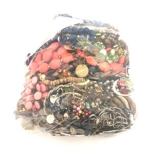 4lb 12oz Crafters Lot Mixed Jewelry Craft